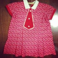 Anchor toddler dress