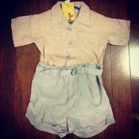 Boys play suit
