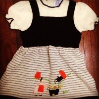 Toddler wool dress