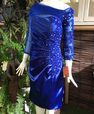 80s evening dress