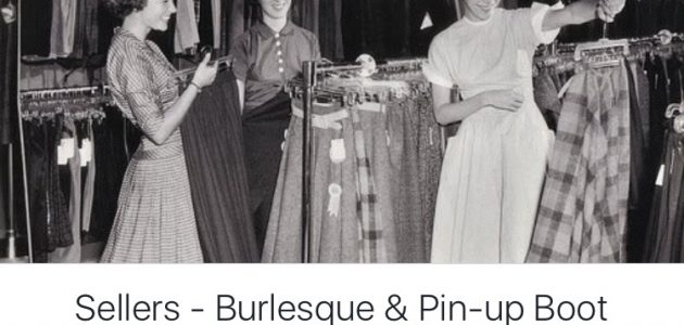 Burlesque & Pin-Up Boot Sale